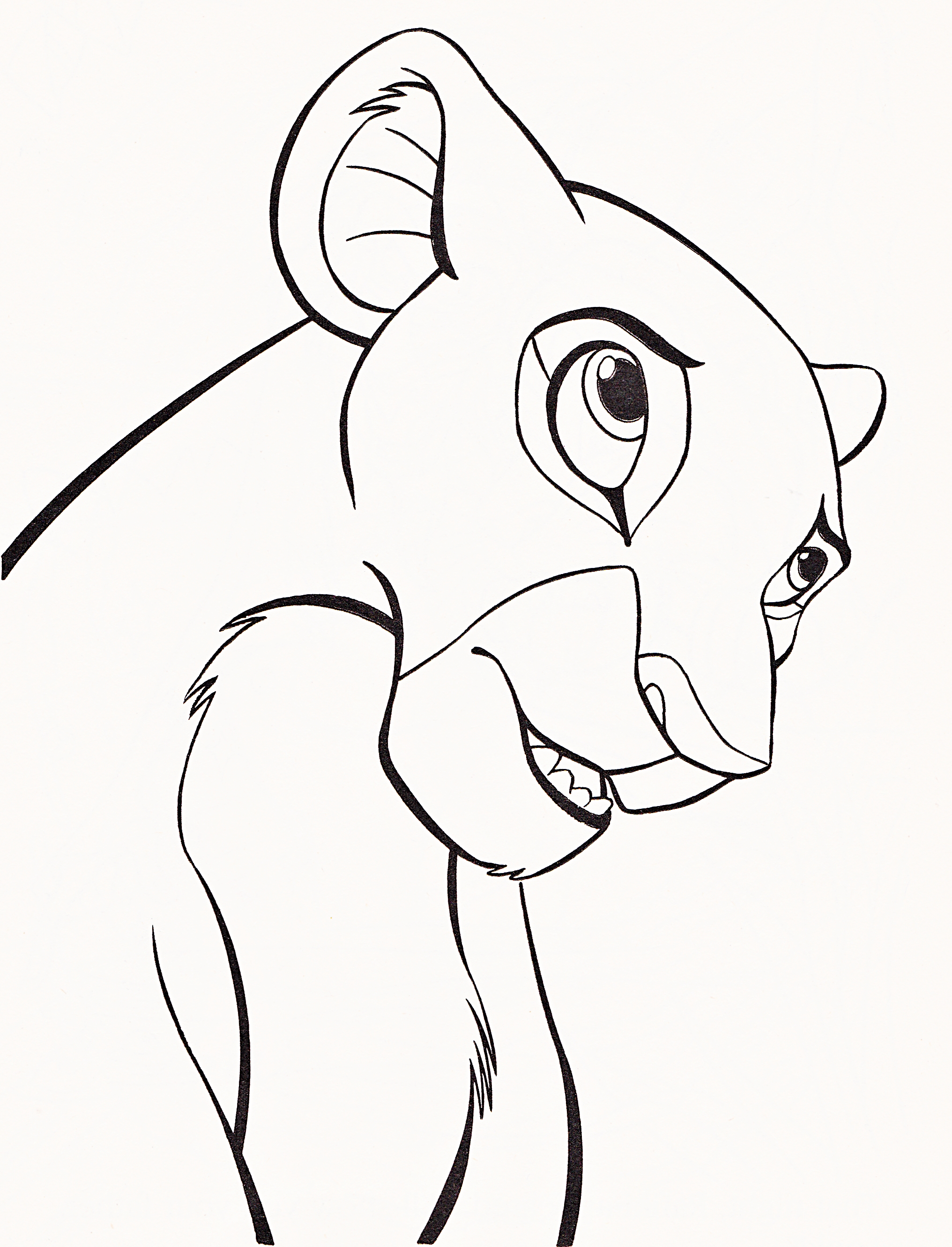 Disney Pages All Characters Coloring Pages