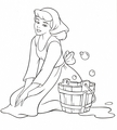 Walt Disney Coloring Pages - Princess Cinderella