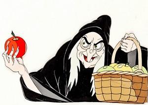 Walt Дисней Production Cels - The Witch