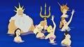 Walt Disney Screencaps - King Triton, Princess Alana, Princess Arista, Princess Andrina, Princess At