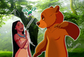 Wingapo, Brother Bear!  - pocahontas fan art