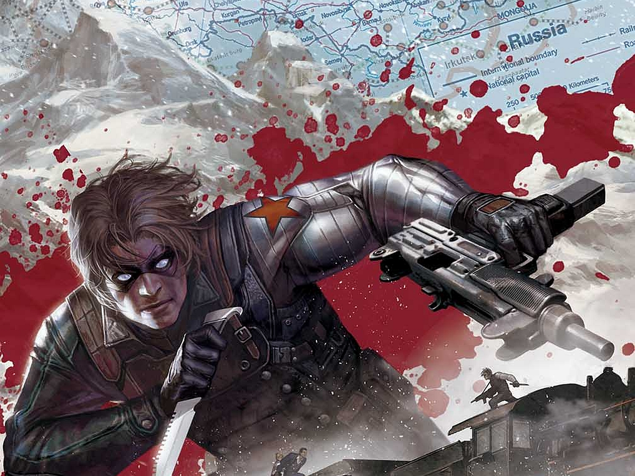 bucky barnes winter soldier wallpaper - photo #8