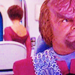 Worf and Leeta - Let Who He Is Without Sin