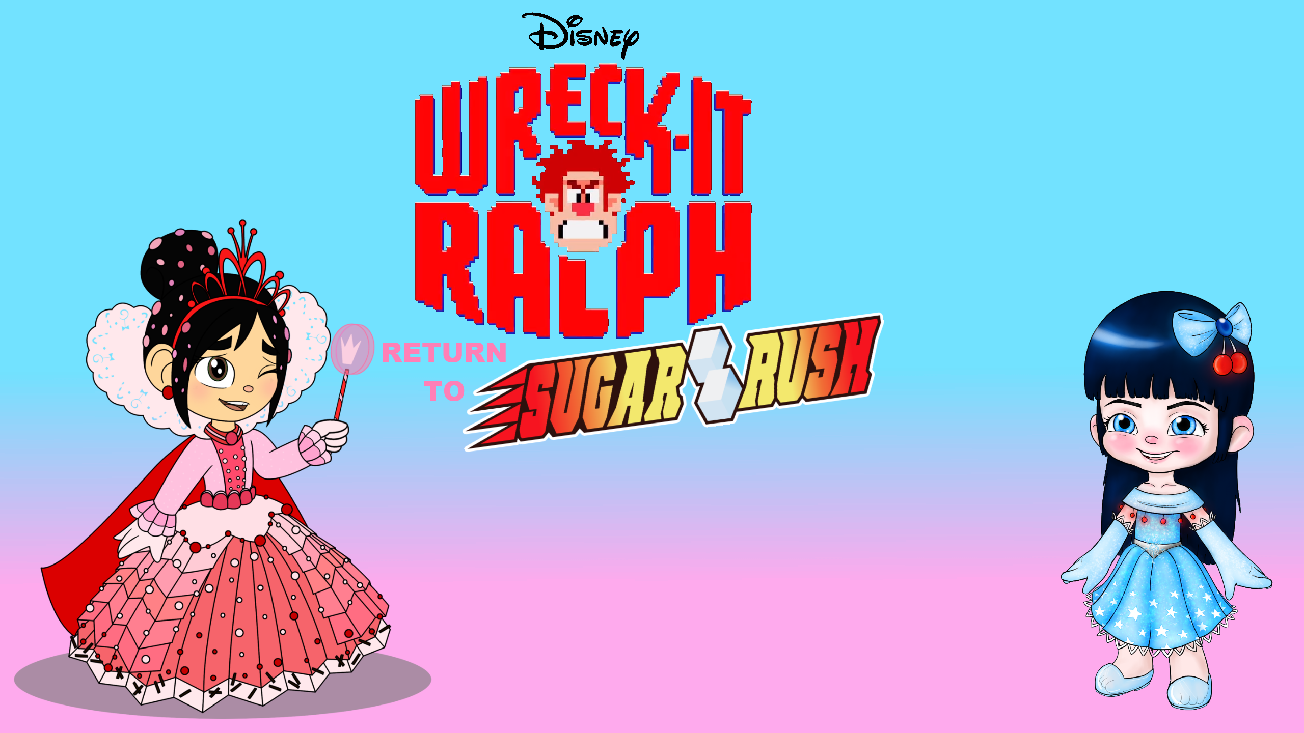 Wreck it ralph wreck it ralph return to sugar rush wallpaper