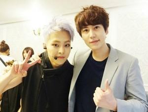 Xiumin with Kyuhyun