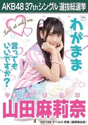 Yamada マリーナ 2014 Sousenkyo Poster