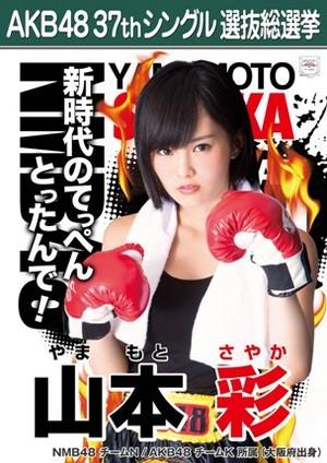 Yamamoto Sayaka 2014 Sousenkyo Poster