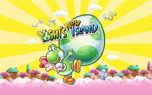 Yoshi's New Island - 1280 x 800 壁紙