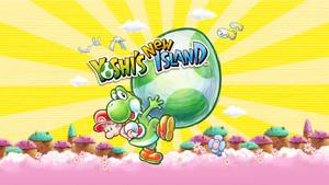 Yoshi's New Island - 1920 x 1080 Обои