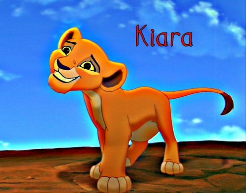 The Lion King 2:Simba's Pride wallpaper possibly containing anime called Young Kiara