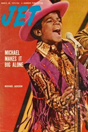 Young Michael On The Cover Of JET Magazine