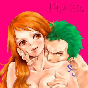 ZORO NAMI ZONA ONE PIECE56