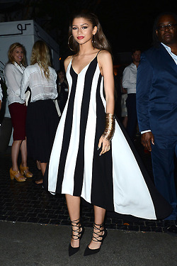 Zendaya Coleman at 鸡尾酒 Party to Honor Women in Film 城堡 Marmont (June 11th)