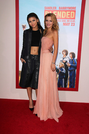 "Zendaya and Bella Thorne at the ""Blended"" premiere in LA (May 21st)"