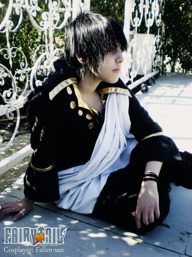 Fairy Tail Cosplay wallpaper with a sign called Zeref Cosplay