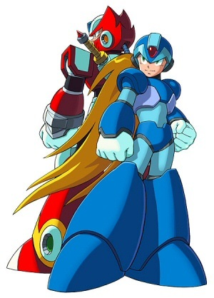 Zero and Mega Man X: MMX series
