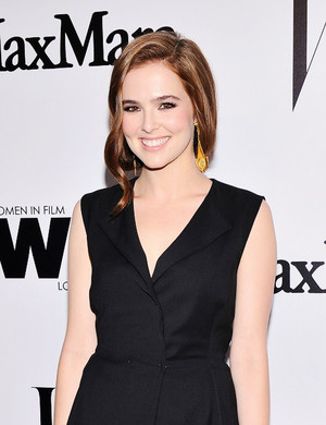 Zoey Deutch at MaxMara and W Magazine cocktail Party