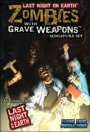 Zombies with Grave Weapons