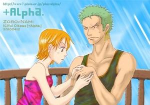 Zoro Nami One Piece1