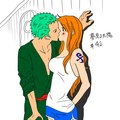 Zoro Nami One Piece3