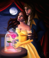 beauty and the beast - belle fan art