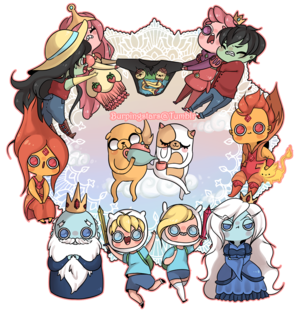 Chibi adventure time