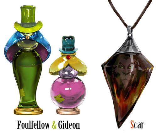 디즈니 villian perfumes