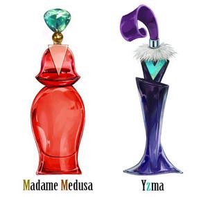 ডিজনি villian perfumes