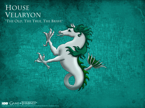 Game of Thrones wallpaper titled House Velaryon