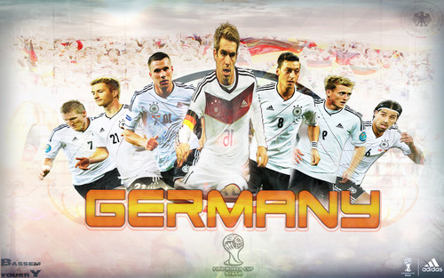 Soccer wallpaper probably containing anime called germany world cup 2014