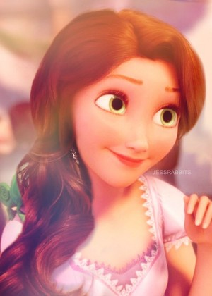 if Rapunzel had long hair