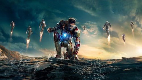 Marvel Live-action Movies wallpaper containing an alpinist titled iron man 3
