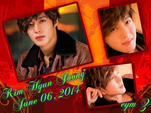 Kim Hyun Joong wallpaper called khj june 06,2014