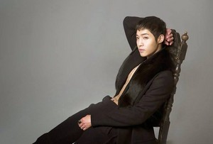 khj sitting on chair