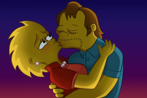 Lisa Simpson wallpaper possibly with anime called lisa and nelson