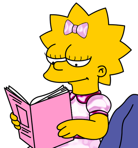 Lisa Simpson 壁紙 containing アニメ entitled lisa simpson