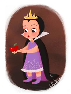 little evil queen