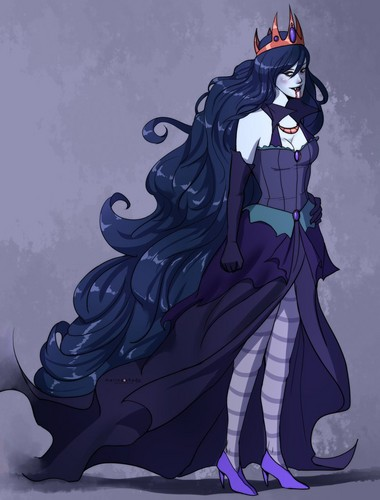 Marceline Wallpaper Possibly Containing Anime Called Vampire Queen