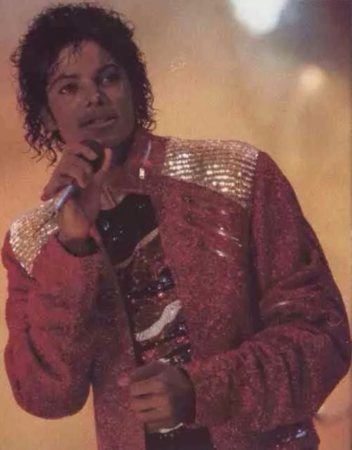 michael on stage