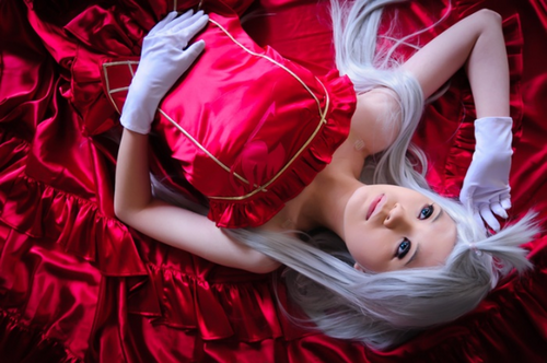 Fairy Tail Cosplay wallpaper entitled mirajane strauss