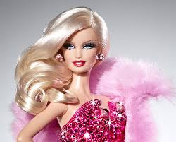 model Barbie superiore, in alto one