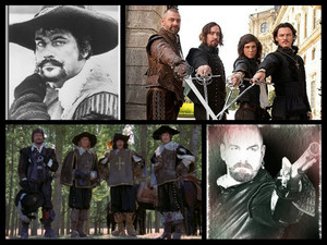 my favorit musketeers