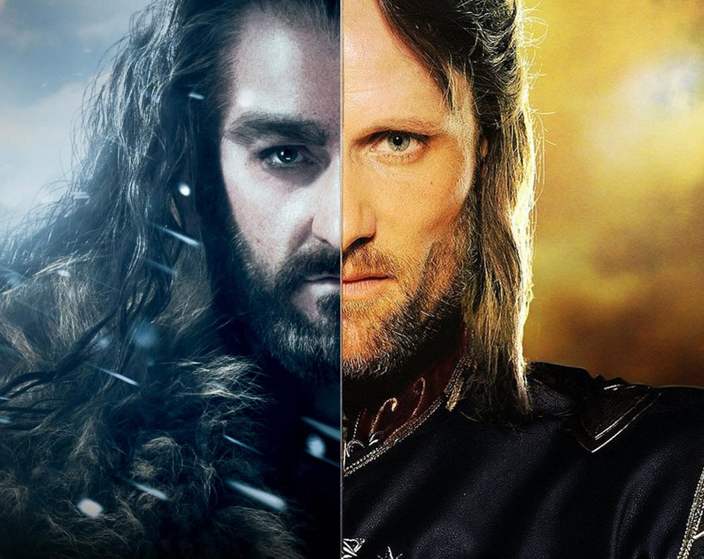 Thorin And Aragorn The Lord Of The Rings The Hobbit