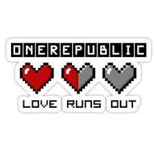 one republic upendo runs out