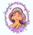 princess jasmine - disney fan art