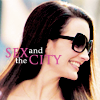 Sex and the City تصویر containing a portrait, sunglasses, and attractiveness entitled sex and the city