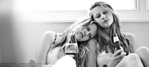 sleeping lovely girls