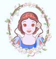 snow white - disney fan art