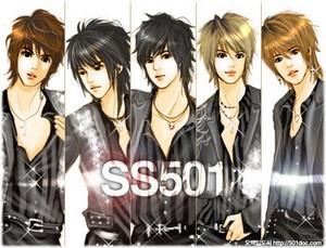 ss501 manga