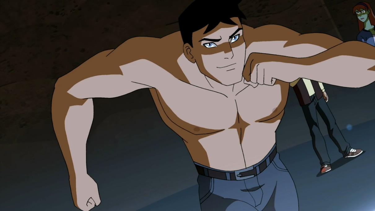 superboy shirtless